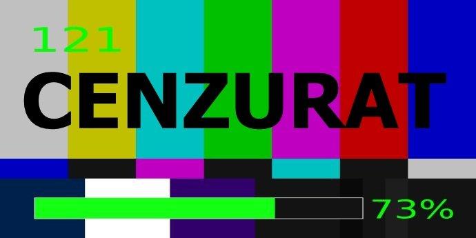 Cenzură. Cum încheie campania electorală tv presa controlată