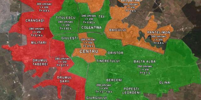 harta seismică