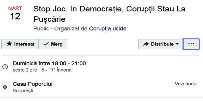 Protestele anti-PSD se mută acum la Palatul Parlamentului