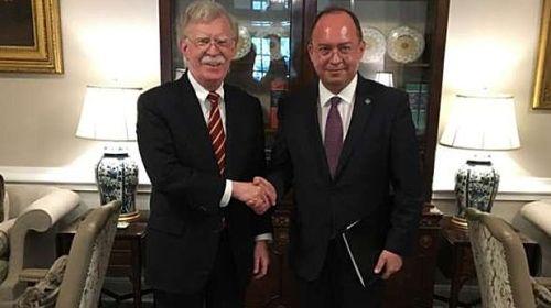 Bogdan Aurescu, consilier prezidenţial, s-a văzut cu John Bolton, consilierul lui Trump