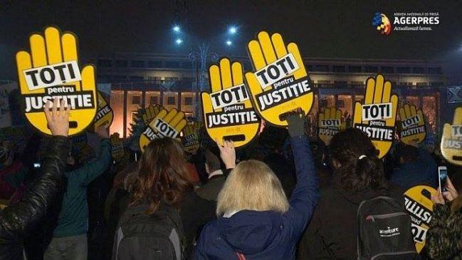 miting de protest