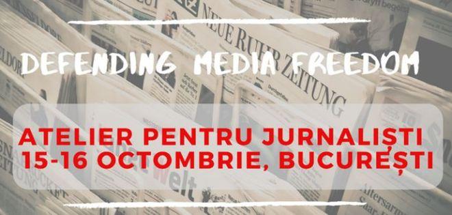 atelier pentru jurnalişti