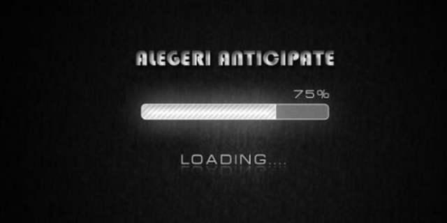 alegerile anticipate