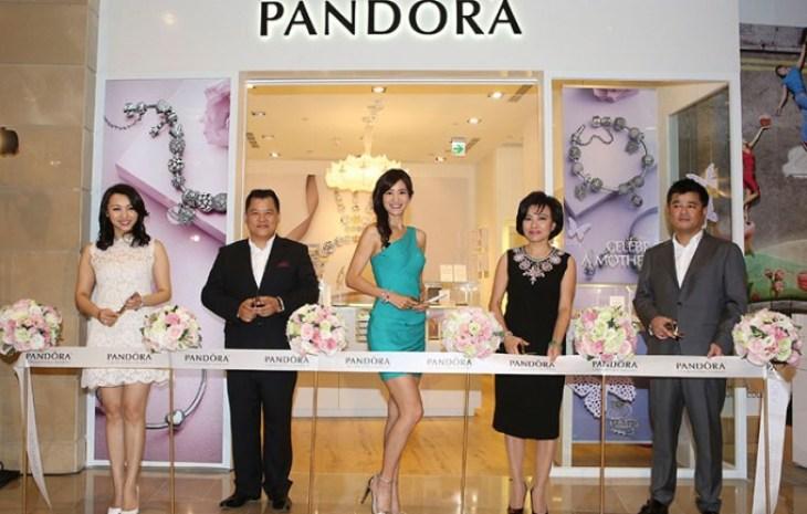PANDORA TAIPEI 101 MALL 形象店開幕記者會