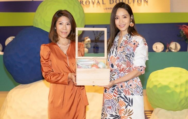 Royal Doulton 1815 恆采系列 X ANGUS CHIANG 時尚藝術快閃店開幕記者會