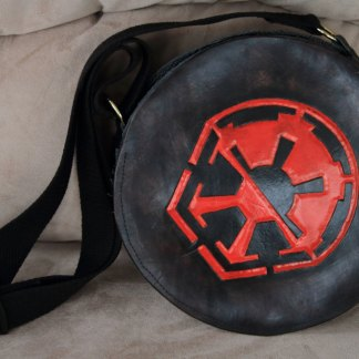 Sith/Galactic Empire leather purse OOAK