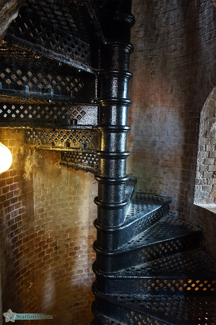 Starforts Com My Visit To Fort East Martello   Cast Iron Spiral Staircase For Sale   Second Hand   Used   Portable   Modular   Rod Iron