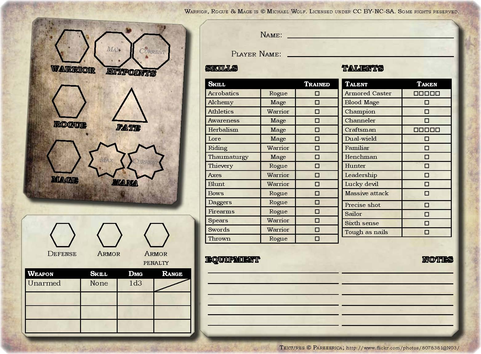 picture relating to Starfinder Character Sheet Printable named Warrior, Rogue Mage: Individuality sheet! Stargazers Environment