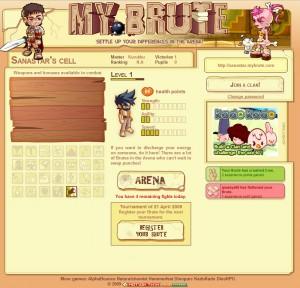 MyBrute screenshot