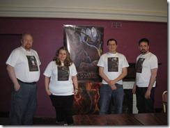 Steve Ironside, Rowena Aitken, Simon Proctor, Iain Lowson at Conpulsion 2011