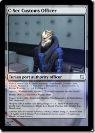 C-Sec Customs Officer