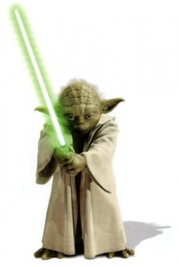 Yoda+Lightsaber