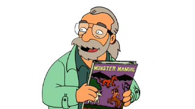FUTURAMA_Gary_gygax_simpsons