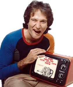Robin Williams It Came From the Late, Late, Late Show