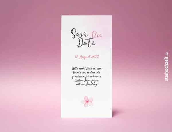 Save the Date, Blush, Einladungskarte Hochzeit, Hochzeitseinladungskarte