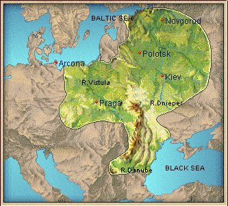 Where Slavs lived
