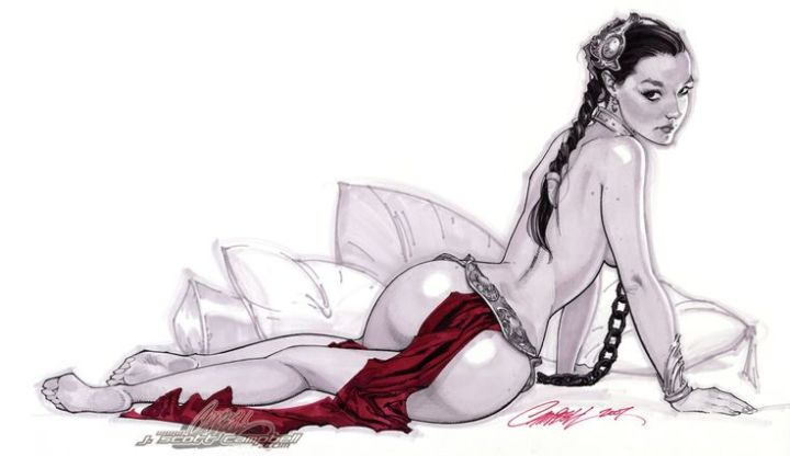 Princess Leia by J Scott Campbell