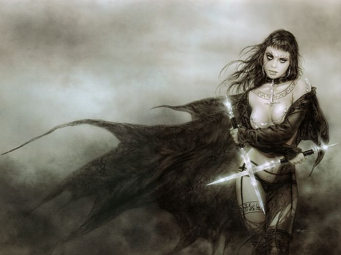 Hecate by Luis Royo
