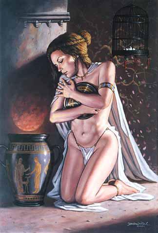 Pandora by Dorian Cleavenger