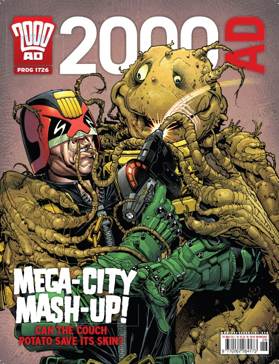 Couch potatoes! One actually rose to become CEO of Mega-City's largest corporation...