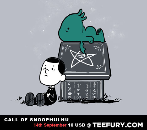 Snoophulhu is adorable (Art Print by Anna Marie Jung)