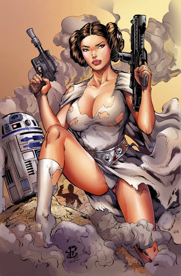 princess leia cartoon porn