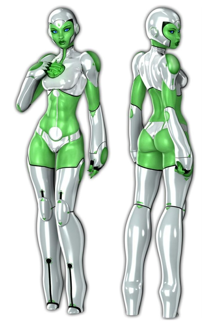 I know I say this every time I talk about robot girls, but why doesn't MY computer operating system look like this?!