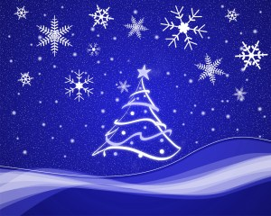 snowflakes-and-christmas-tree-stylized