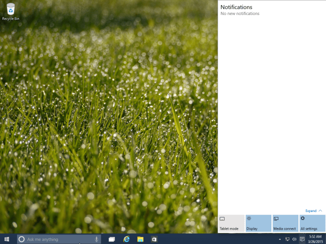 windows 10 - notifications