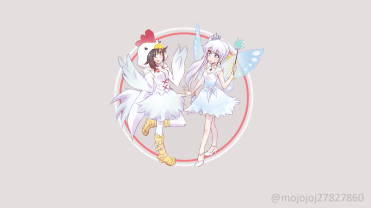 RWBY - chicken ruby and fairy weiss