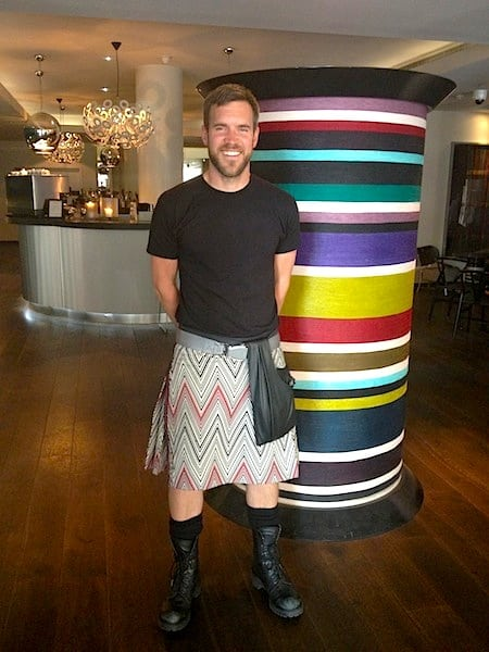 Loved the silk kilts