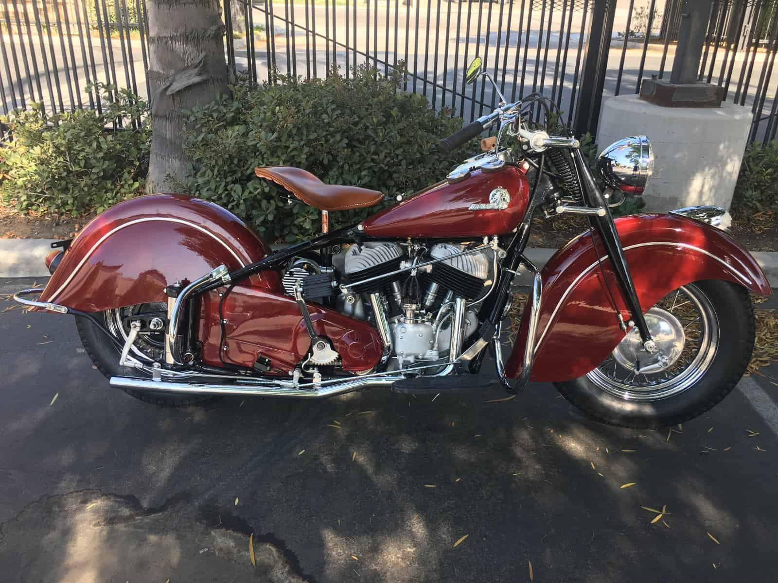 Awesome 1946 Restored Indian Chief For Sale Starklite Indian Motorcycles Wiring Digital Resources Counpmognl