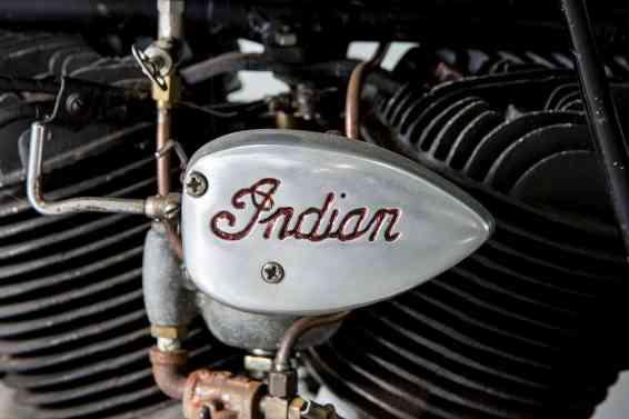 Steve McQueen 1936 Indian Chief