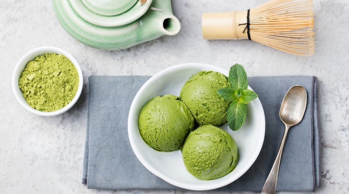 Matcha Avocado Ice-Cream, for Mum!