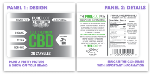 custom marijuana labels