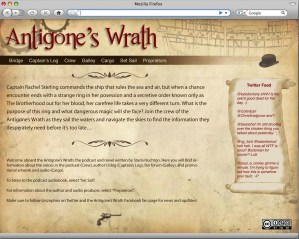 Version 1 of the AW website