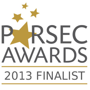 Parsec Awards 2013 Finalist Badge