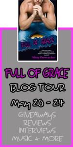 FULL OF GRACE blog tour banner