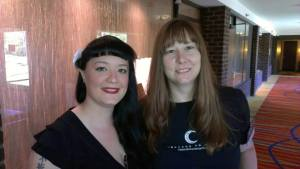 Me with Melissa Hayden, Balticon 2013