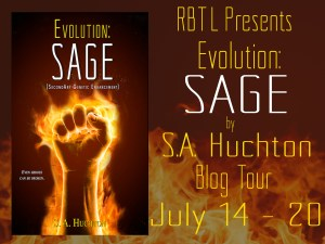 Evolution Sage Blog Tour Banner