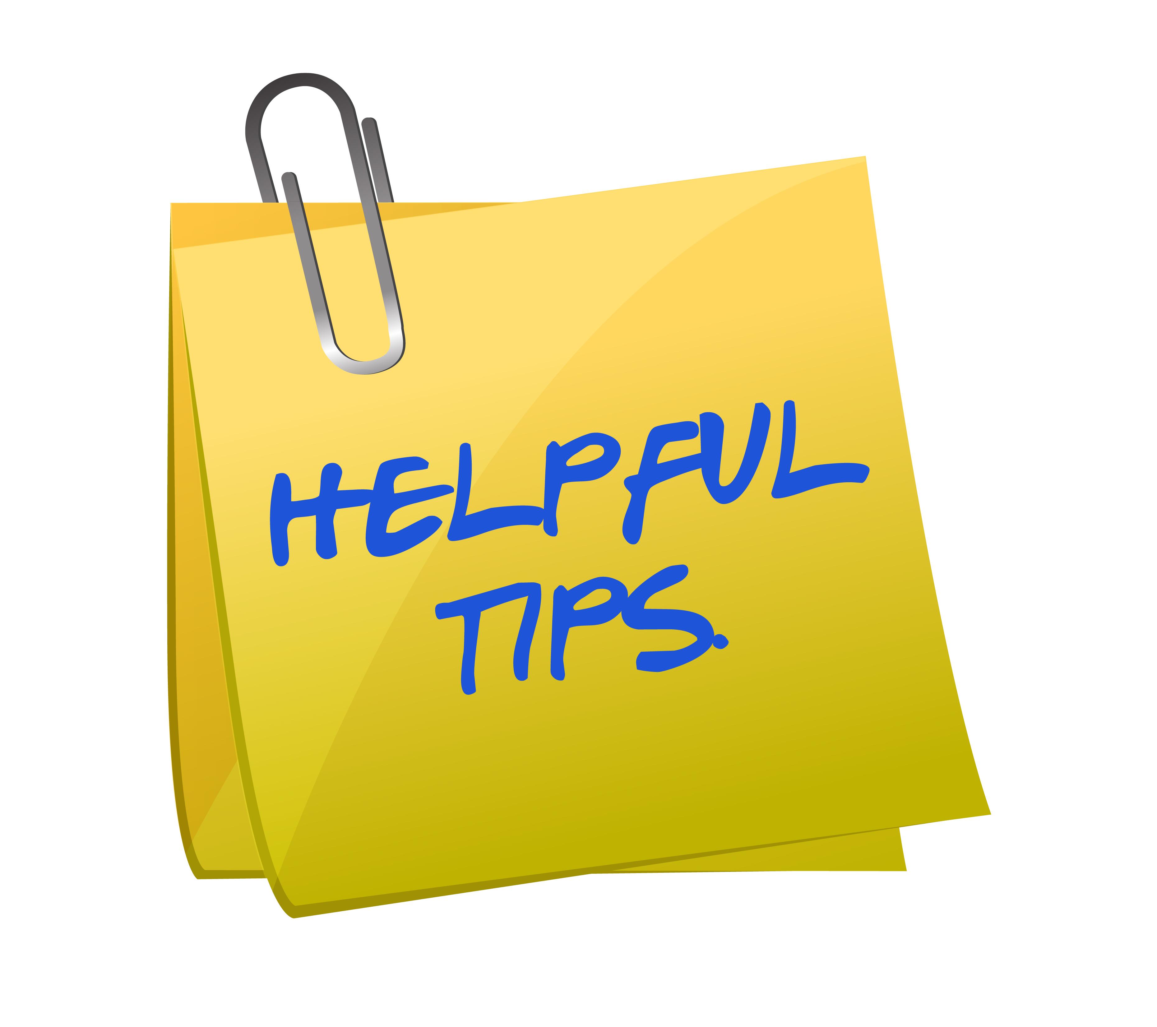 helpful tips teaser images