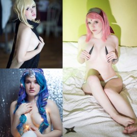 Saber VKS/ButtStallion/Sakura Lingerie Bundle
