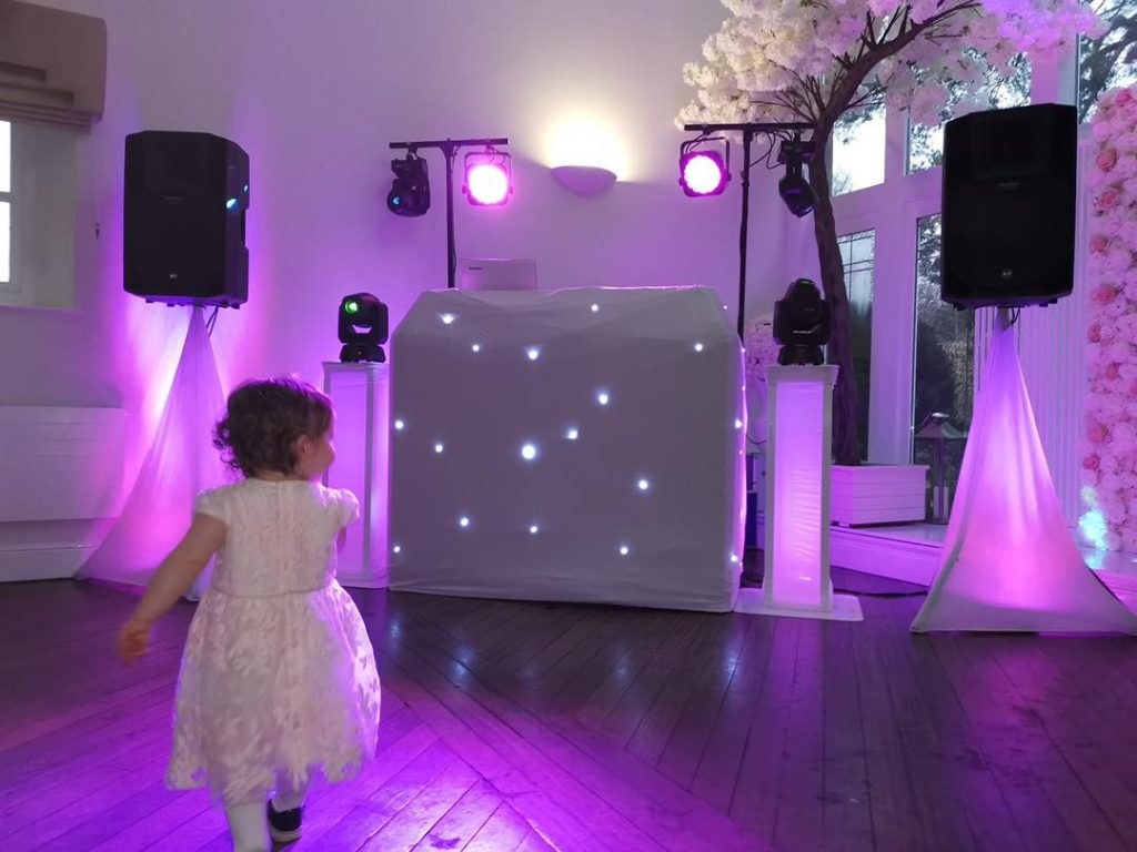 Starlight Party Wedding DJ Horton Grange Hotel