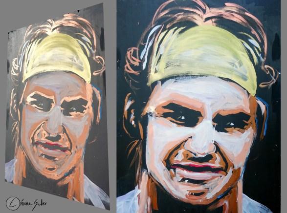 Roger Federer by Corinne Sutter