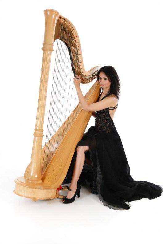 Harfe und Gesang