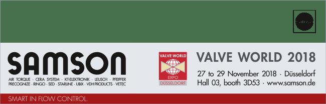 VALVE WORLD 2018