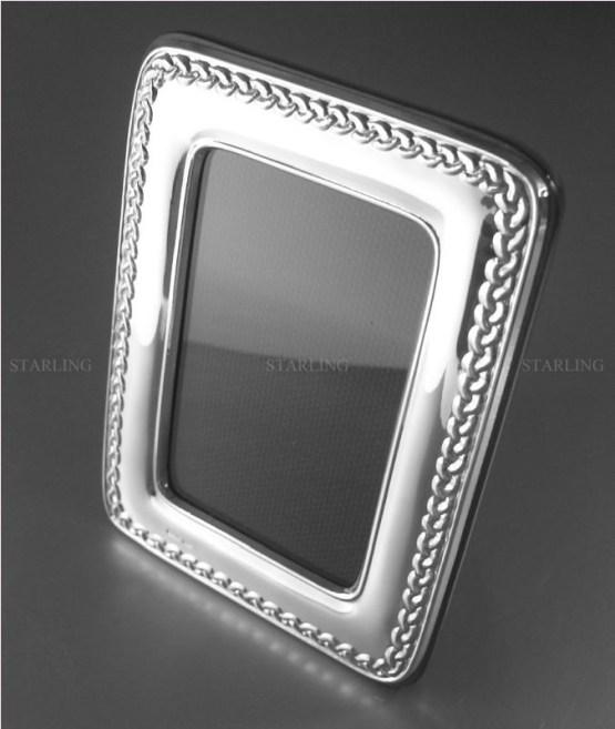 art deco silberrahmen bilderrahmen fotorahmen cadre photo argent 925 foto frame picture frame fotograph frame hallmarked sterling silver