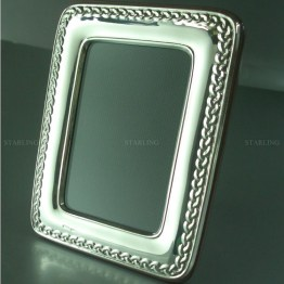 silberrahmen bilderrahmen fotorahmen cadre photo argent 925 foto frame picture frame fotograph frame hallmarked sterling silver