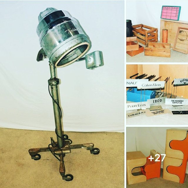 Auction full of items from our Vintage Resale Business Endshellip