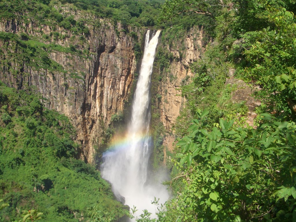 Kalambo Falls on Tanzania-Zambia border